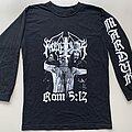 "Marduk - TShirt or Longsleeve - Marduk ""Rom 5:12"" LS (Size Medium)"