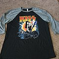 "KISS KRUISE IX ""Rock N Roll Legacy"" three quarter sleeve shirt"