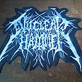 Nuclearhammer-Logo back patch