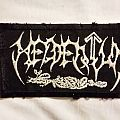 Heldentum embroidered woven Patch