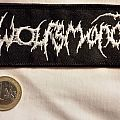Wolfsmond - embroidered woven patch