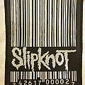 Slipknot barcode patch