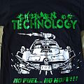"Children of technology ""No Fuel... No Hope"" shirt"