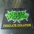 Skeletal Remains - Desolate Isolation Patch