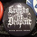 Crypts Of Despair - Death Metal Abyss Pin Pin / Badge