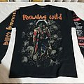 Running Wild - Pile Of Skulls Tour LS TShirt or Longsleeve