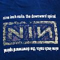 NINE INCH NAILS - The Downward Spiral - Tour Shirt 1994