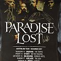 Paradise Lost 2017 Australian Tour & Medusa Promo Poster Signed. Other Collectable