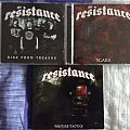 The Resistance - Tape / Vinyl / CD / Recording etc - The Resistance First 3 Cd's