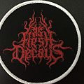 As Flesh Decays Logo Patch