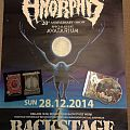 Amorphis - Other Collectable - Amorphis 20th Anniversary Gig Poster, Patches & Cd
