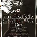 The Amenta Australian Tour Poster Other Collectable