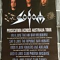 Sodom - Other Collectable - Sodom Australian Tour Poster