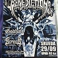 Benediction European Gig Poster