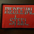 Medieval Steel logo patch