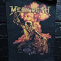 Megadeth - Patch - Megadeth - Peace Sells... But Who's Buying / Nuclear Explosion Vic