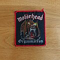 Motörhead - Patch - Motörhead - Orgasmatron
