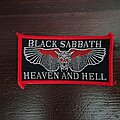 Black Sabbath - Patch - Black Sabbath - Heaven and Hell