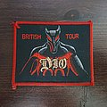 Dio - Holy Diver / British Tour  Patch
