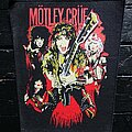 Mötley Crüe - Patch - Mötley Crüe - band back patch