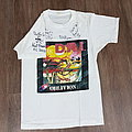 Vintage 1980' D.R.I Obvilion Tour Shirt With Signature