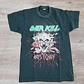 Vintage 80's Overkill We Came To Shred Shirt