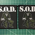 S.O.D. - Patch - S.O.D. (Sargent D)