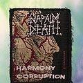 "Napalm Death - Patch - Napalm Death ""Harmony Corruption"""