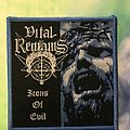 """Vital Remains """" Icons of Evil"""" Patch"""