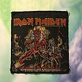 """Iron Maiden """"Hollowed Be Thy Name"""" Patch"""
