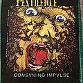 "Pestilence ""Consuming Impulse"" Back Patch"