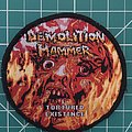 "Demolition Hammer ""Tortured Existence"" Patch"