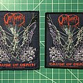 """Obituary """"Cause Of Death"""" Patch"""