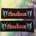 Merciless ( Black Boarder and Red Boarder) Patch