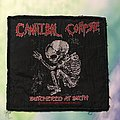 """Cannibal Corpse """"Butchered At Birth"""" Patch"""