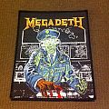 Megadeth- Holy wars woven patch