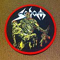 Sodom m-16 woven bootleg patch