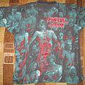 Cannibal Corpse - The Bleeding all over print shirt