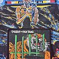 Tygers of pan tang - the cage vintage patch