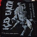 Iced Earth, Night Of The Stormrider woven patch,
