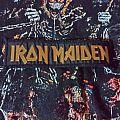 Iron Maiden mini strip vintage Patch