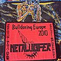 Metalucifer - Bulldozing Europe Woven Patch