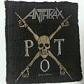 Anthrax P.O.T - Patch
