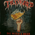 Tankard - Die With A Beer In Your Hand Backpatch