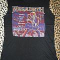 Megadeth peace sells old d.i.y. shirt