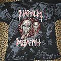 Napalm Death allover shirt European Tour 1994