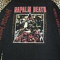 Napalm Death - TShirt or Longsleeve - Napalm Death - World Keeps Turning original longsleeve