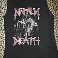 Napalm Death shirt from late 80's