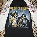 Motley Crue 80's baseball shirt