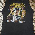 Anthrax shirt Among The Living World Tour Phase 1